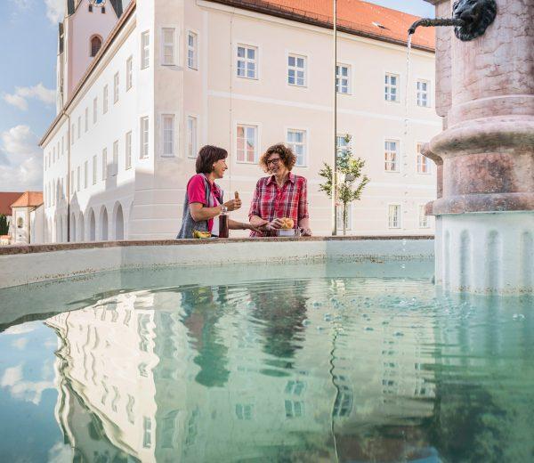 Rast am Kloster Indersdorf