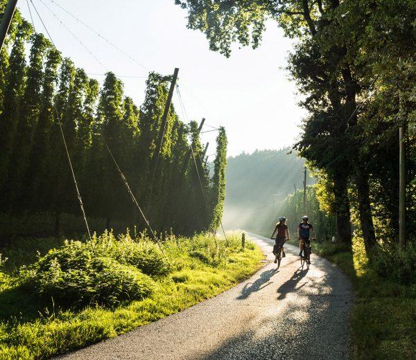 Wasser-Radlwege Oberbayern Hopfen-Schleife
