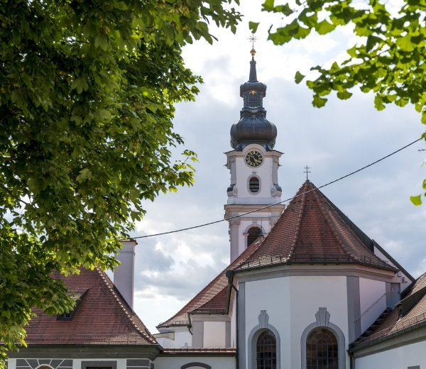 Ortsansicht Altomünster Klosterkirche