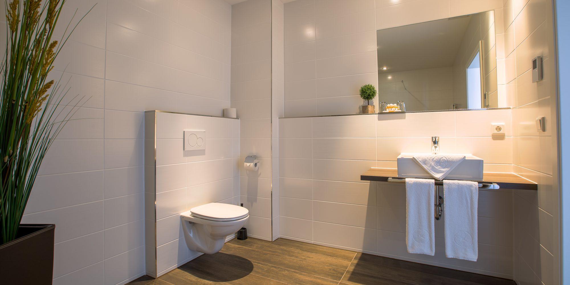 Badezimmer AppartHotel Altomünster
