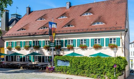 Außenansicht Brauereigasthof Maierbräu