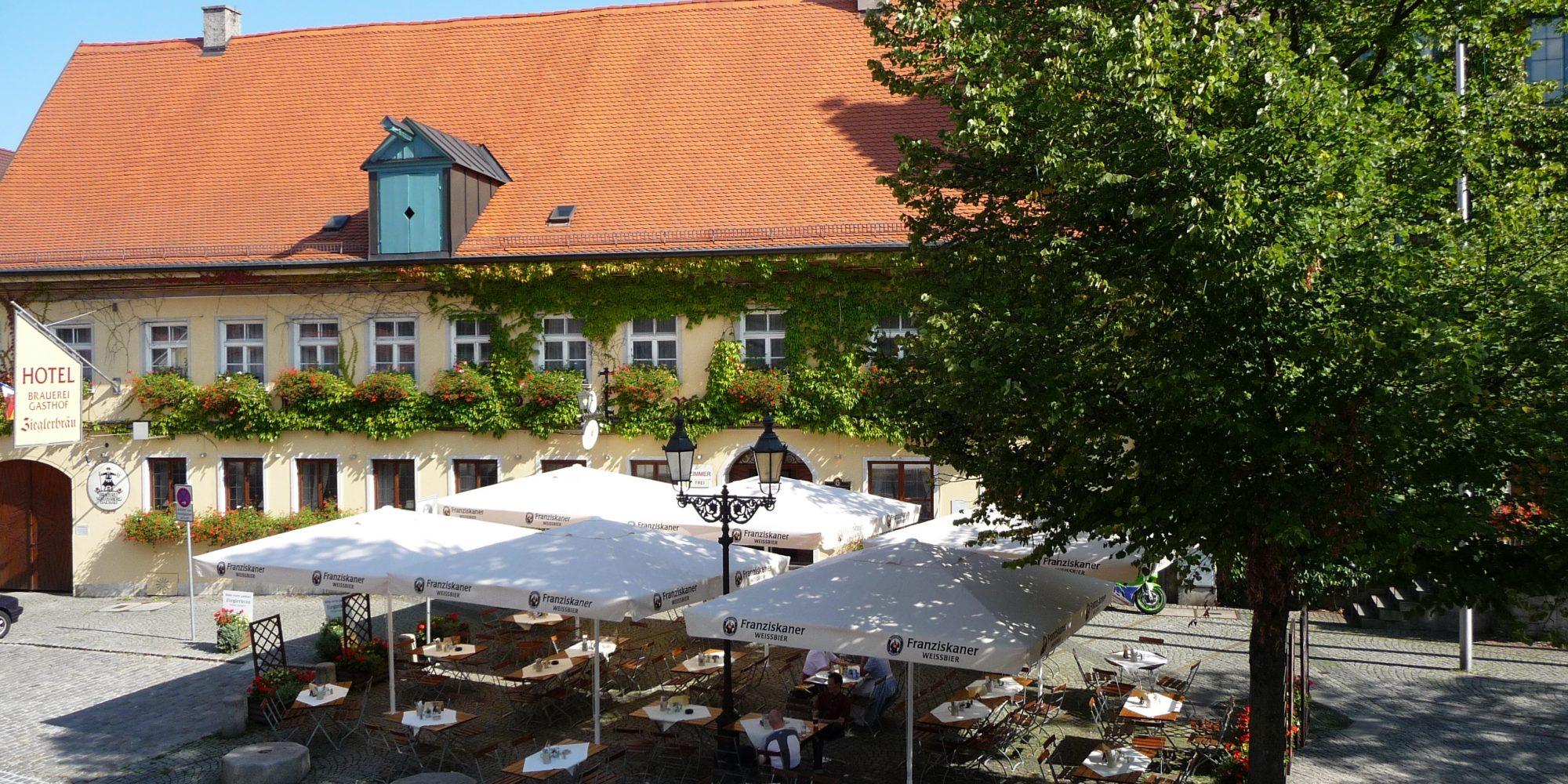 Außenansicht Altstadhotel Zieglerbräu