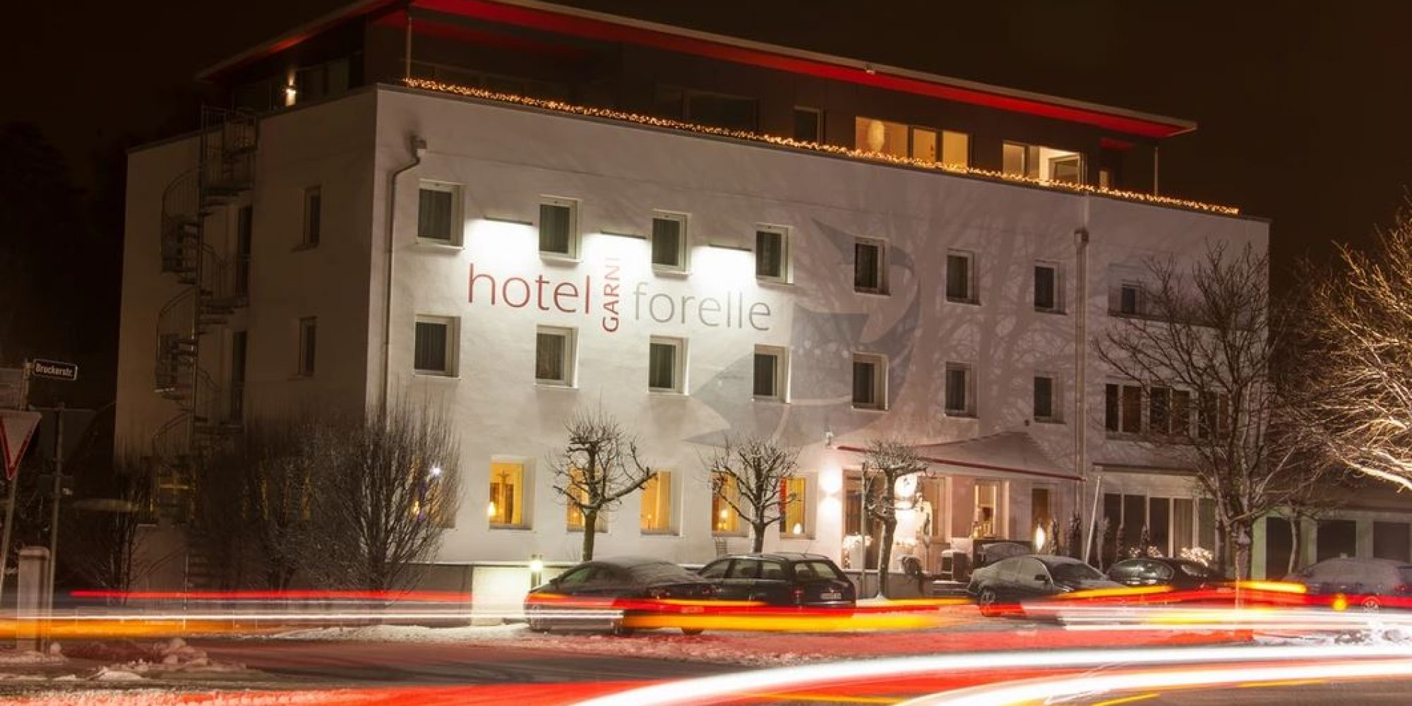 Außenansicht Hotel Forelle