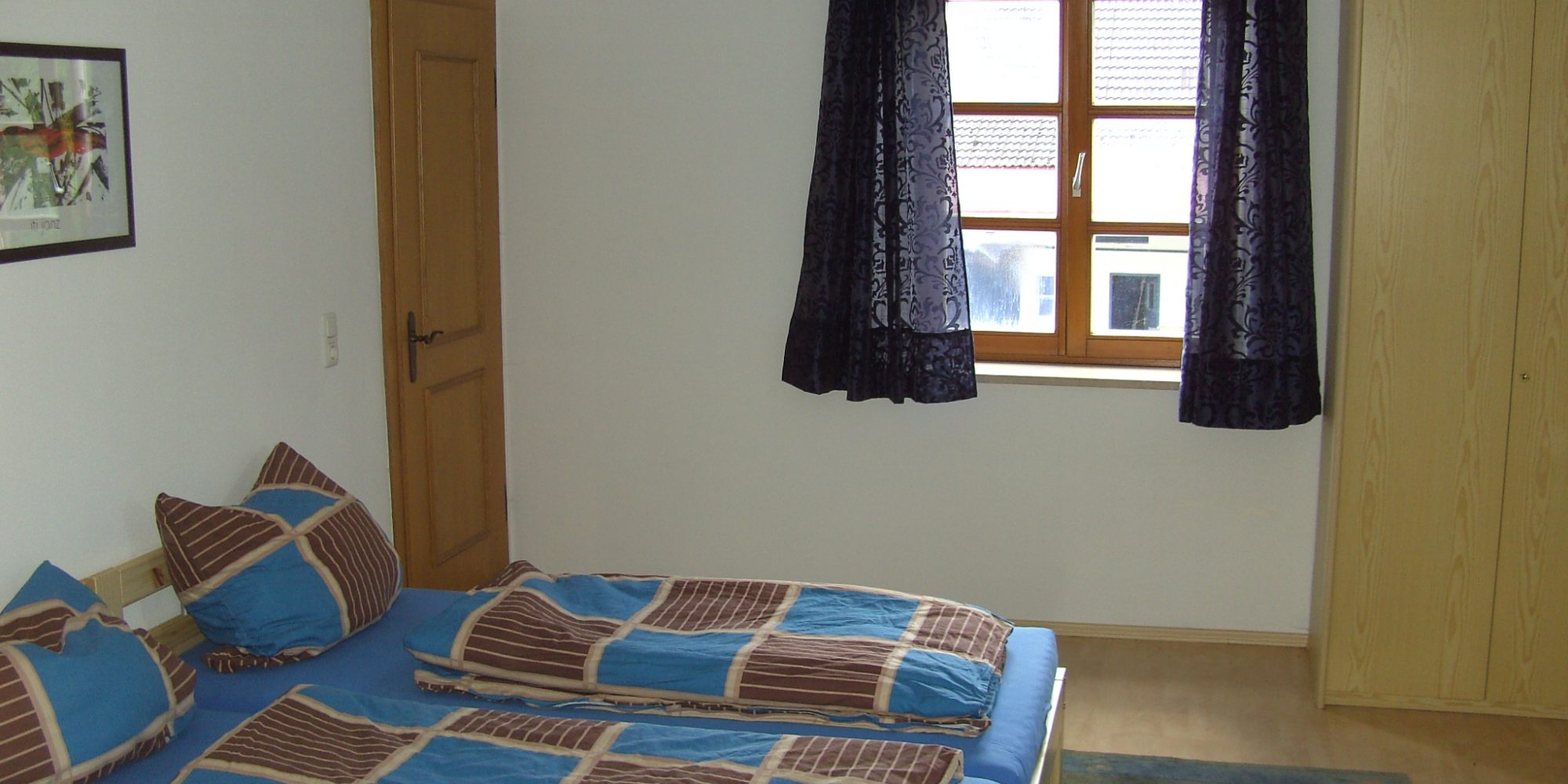 Schlafzimmer Ferienwohnung Kreitmair