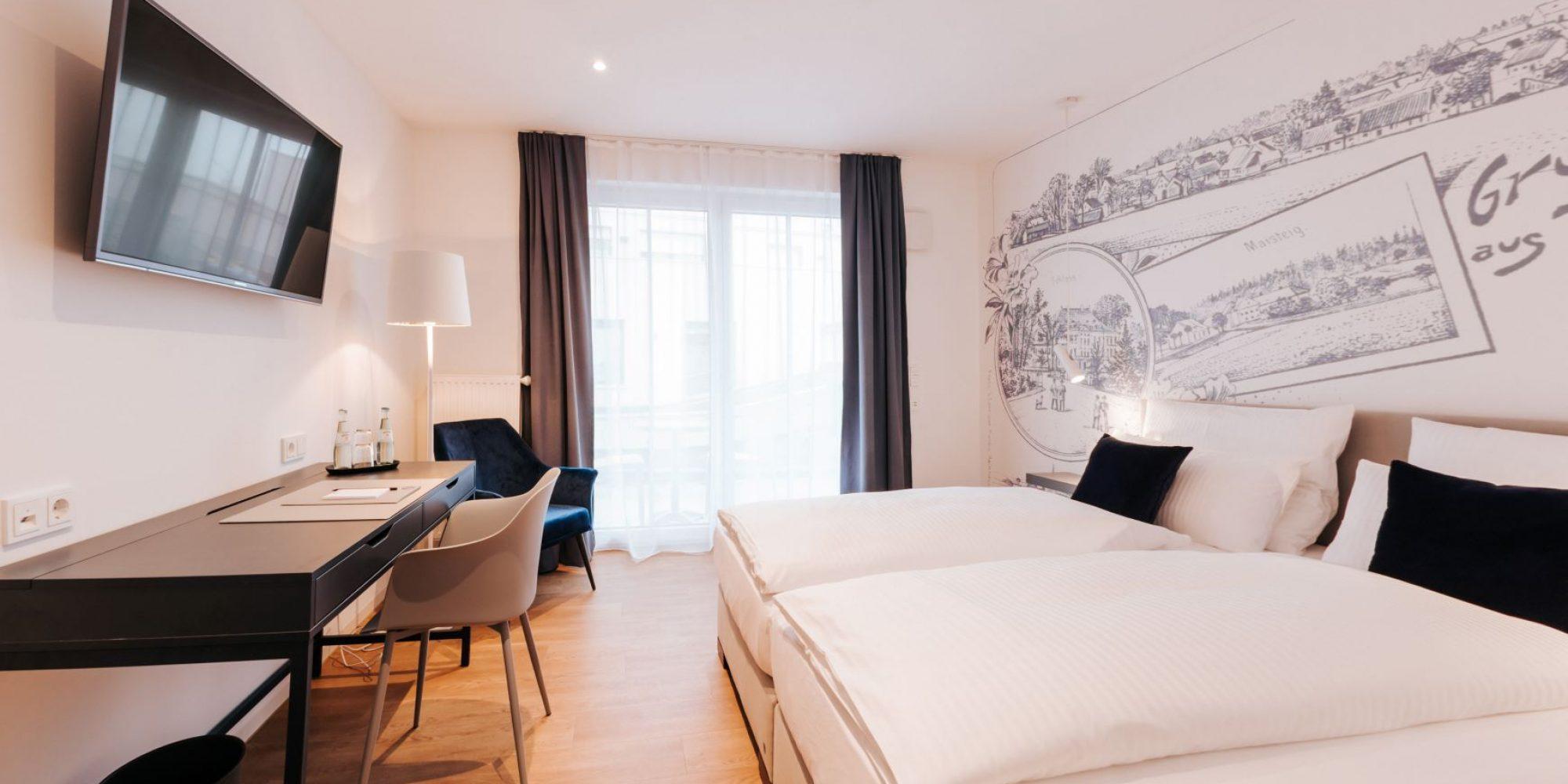 Doppelzimmer Haimhausers Hotel Garni