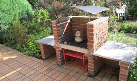 Gartenansicht Ferienhaus Irmgard