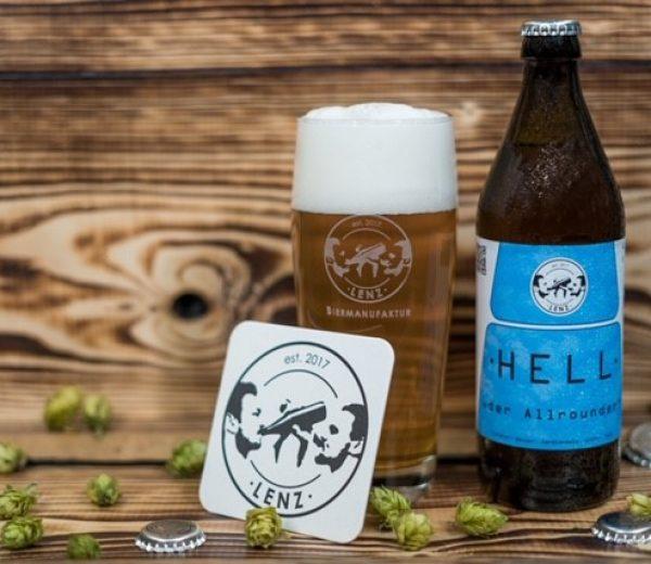 Helles Lenz Brauerei