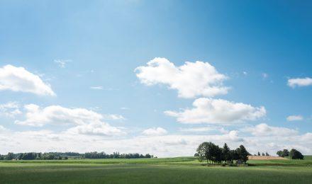 Landschaftsaufnahme Dachauer Land