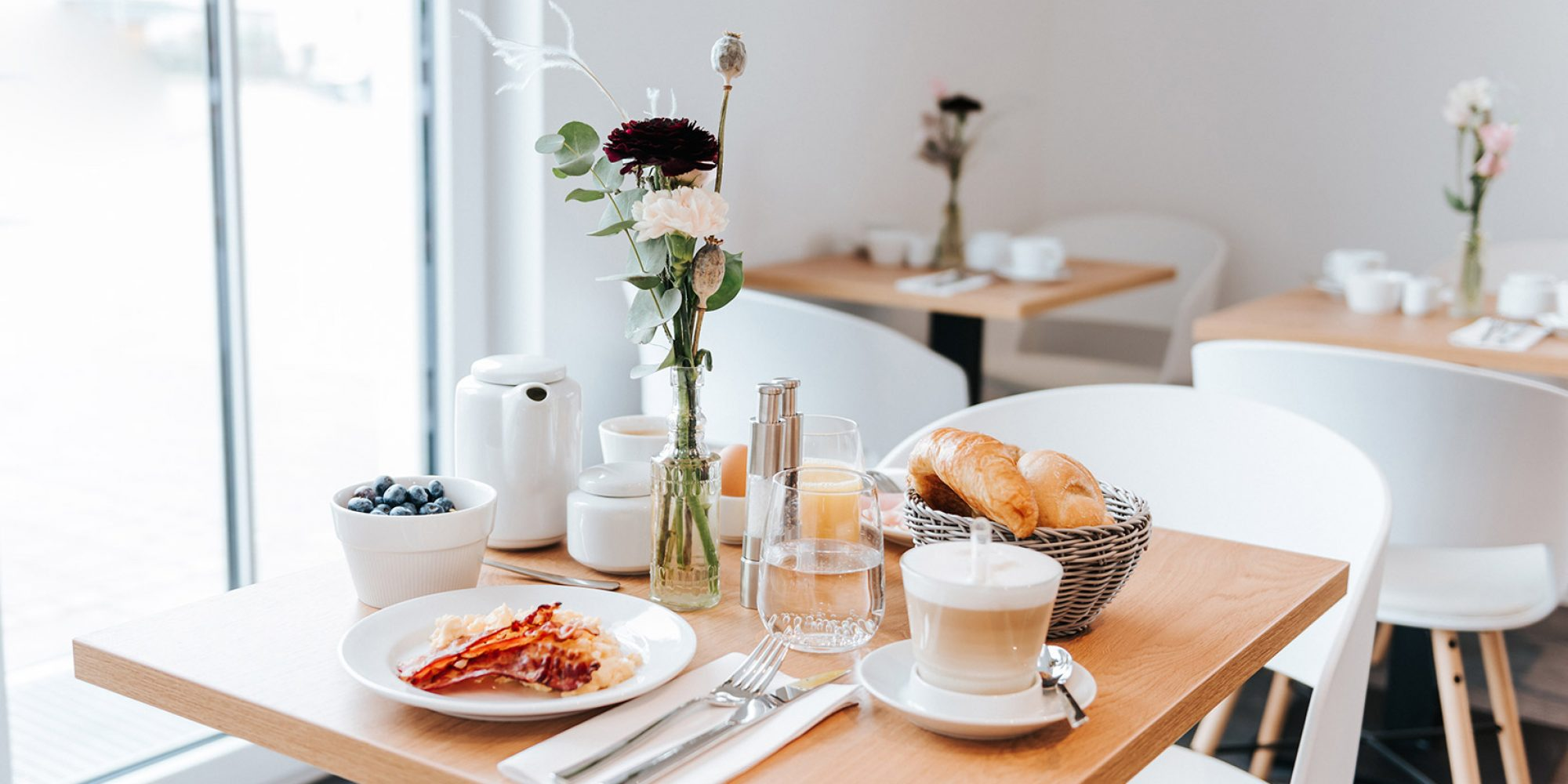 Frühstücksbuffet Haimhausers Hotel Garni