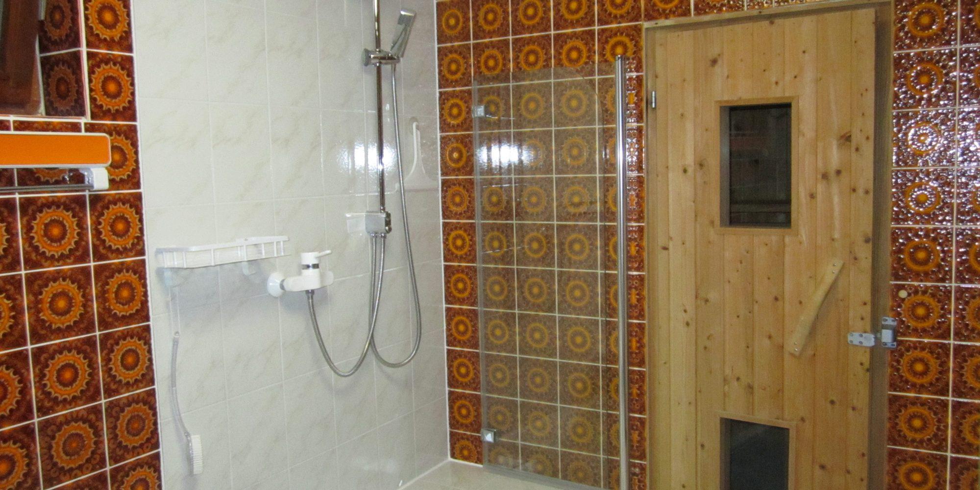 Badezimmer Ferienhaus Irmgard