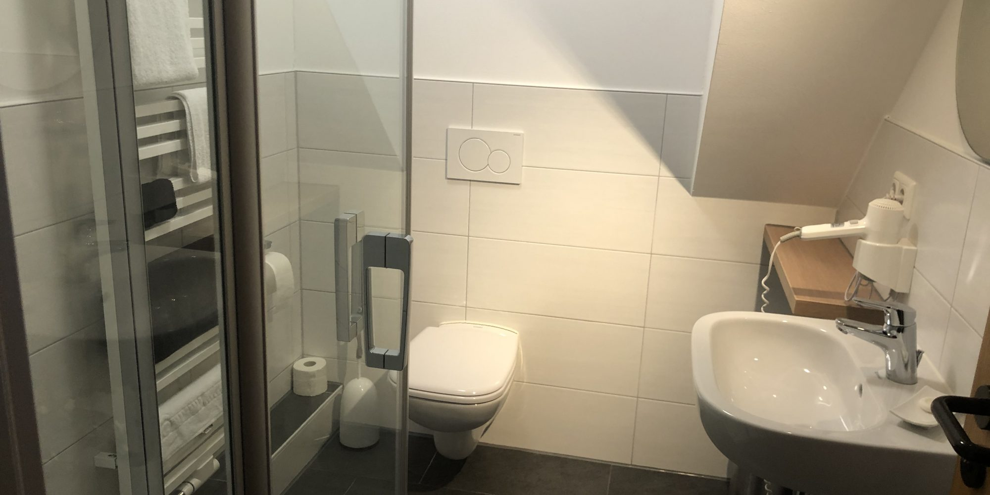 Badezimmer Gasthof Langenegger