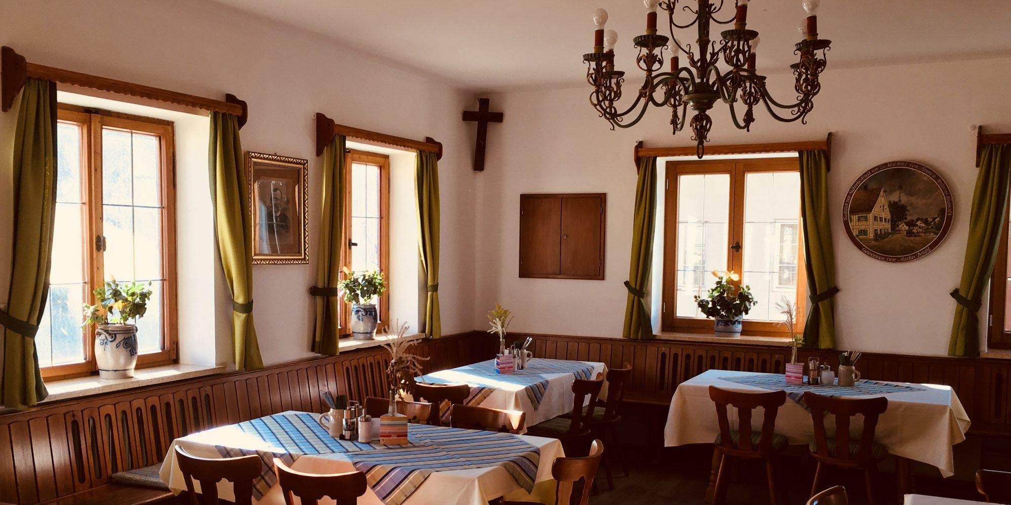 Gaststube Wirtshaus Oberbachern