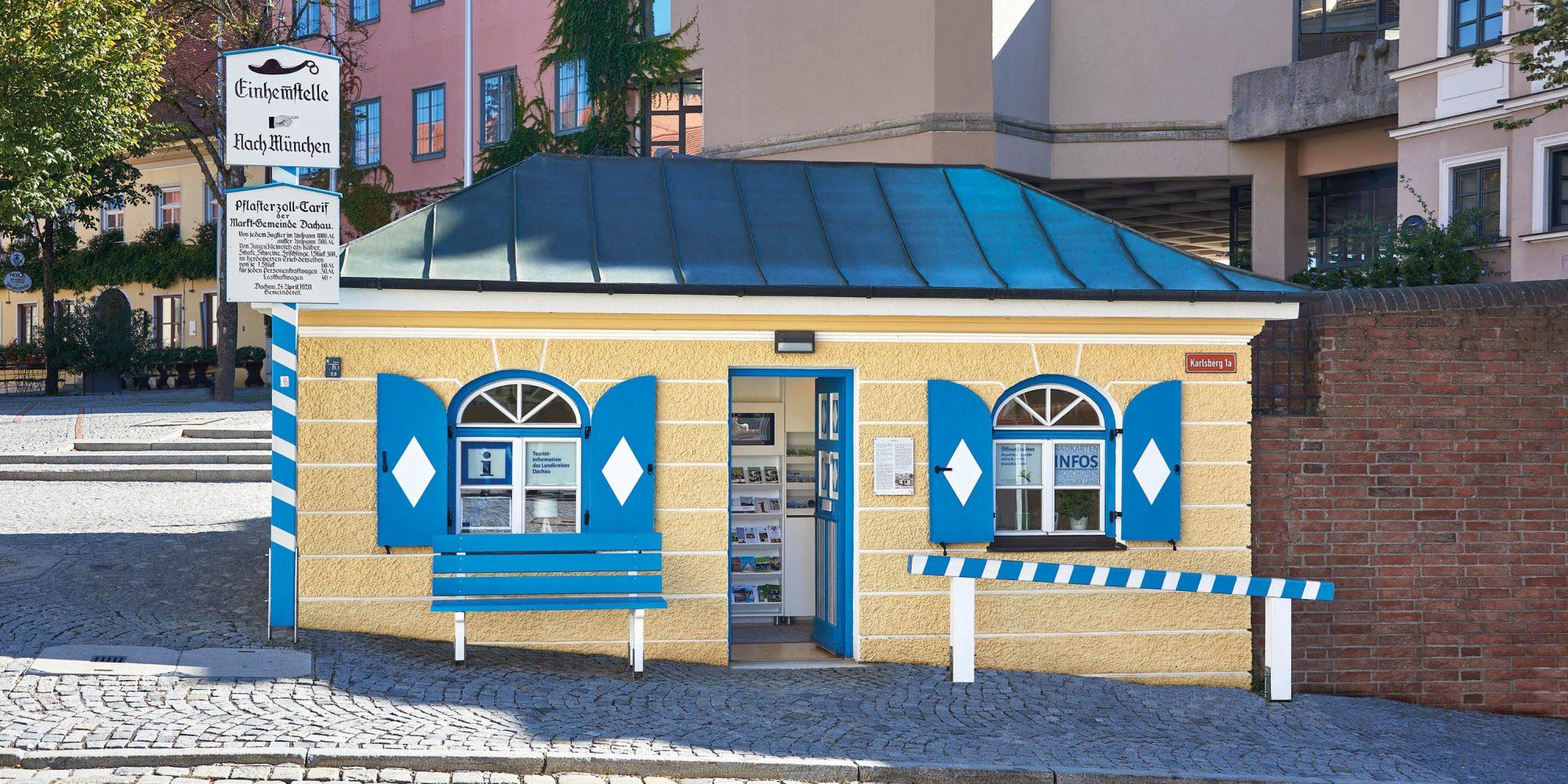 Informationsbüro im Alten Zollhäusl