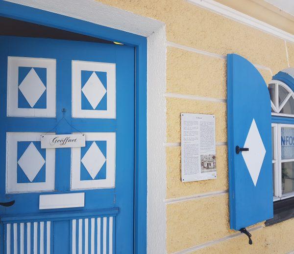 Informationsbüro Altes Zollhäusl geöffnet
