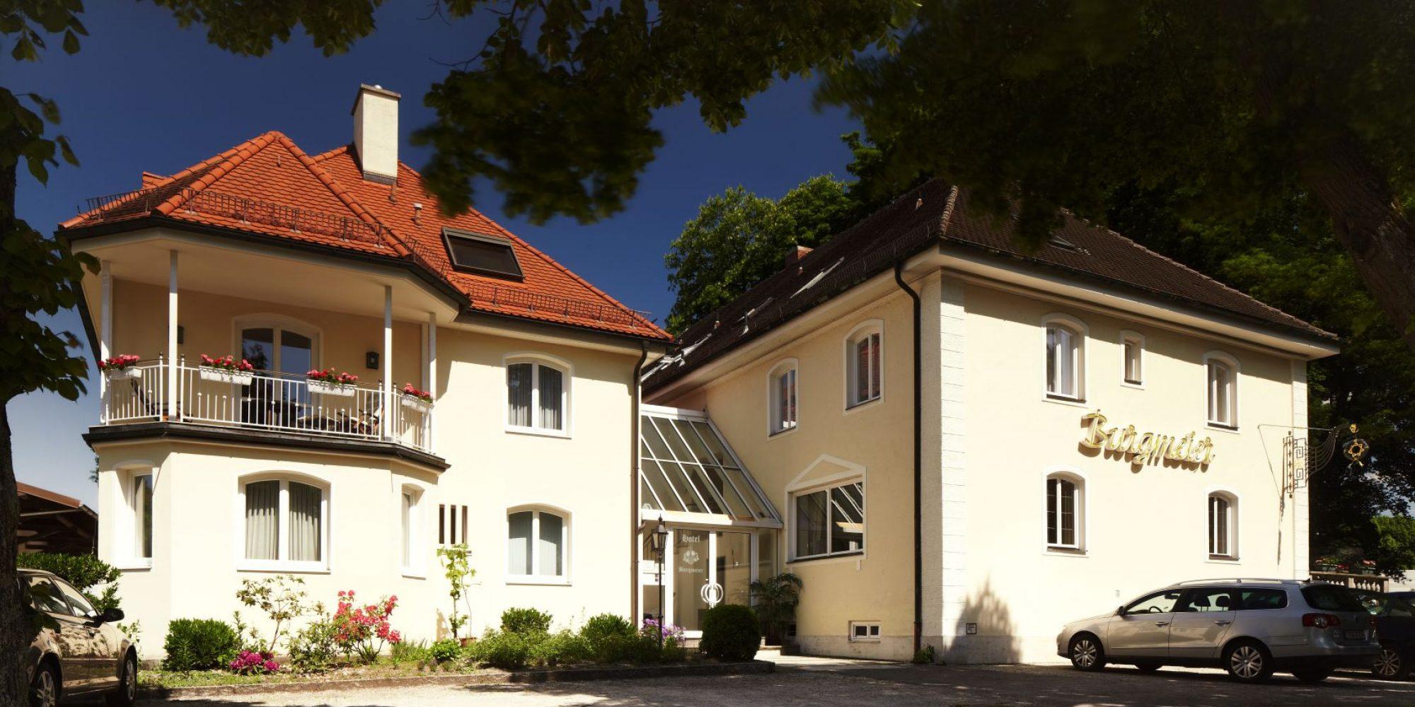 Außenaufnahme Hotel Burgmeier