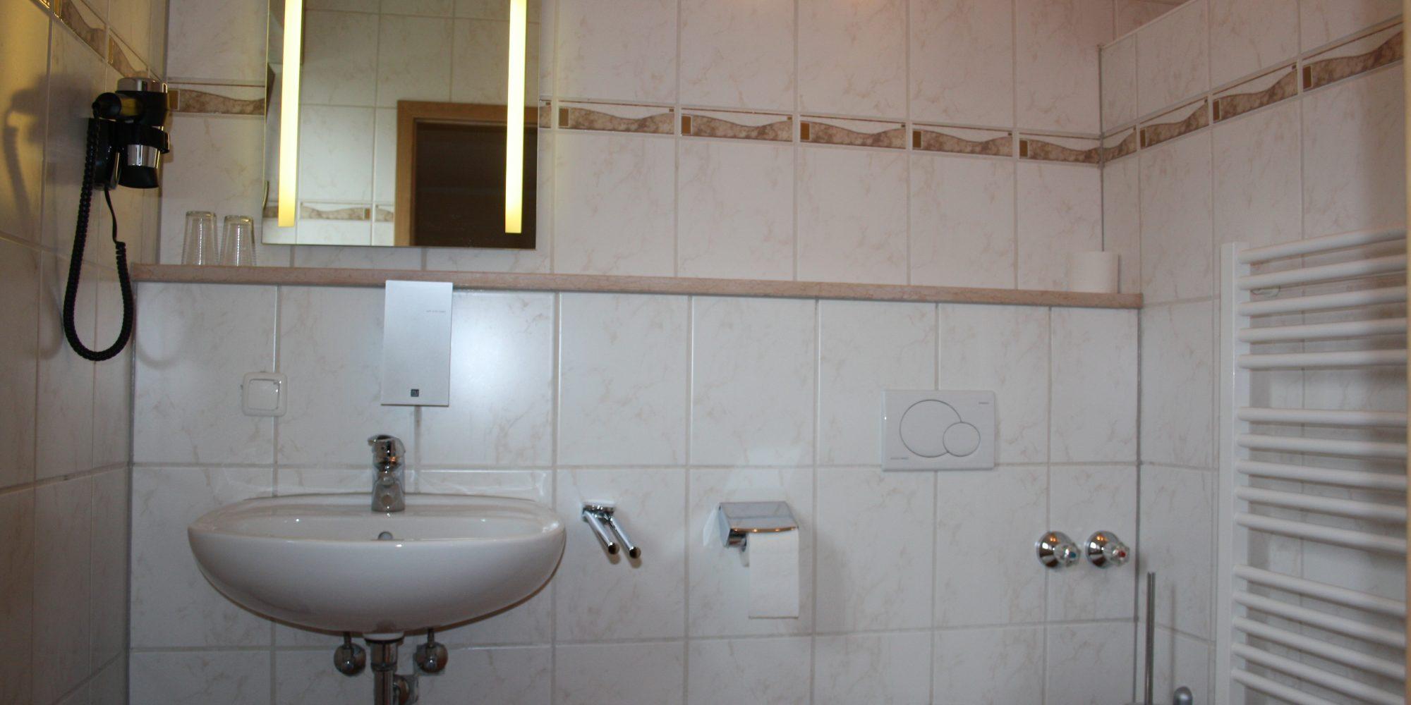 Badezimmer Landgasthof Haagen