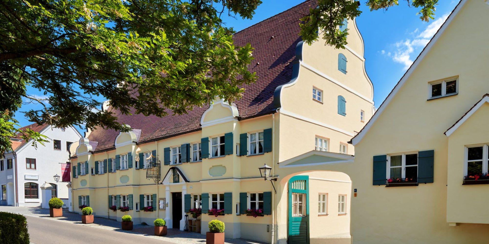 Außenansicht Brauereigasthof und Hotel Kapplerbräu