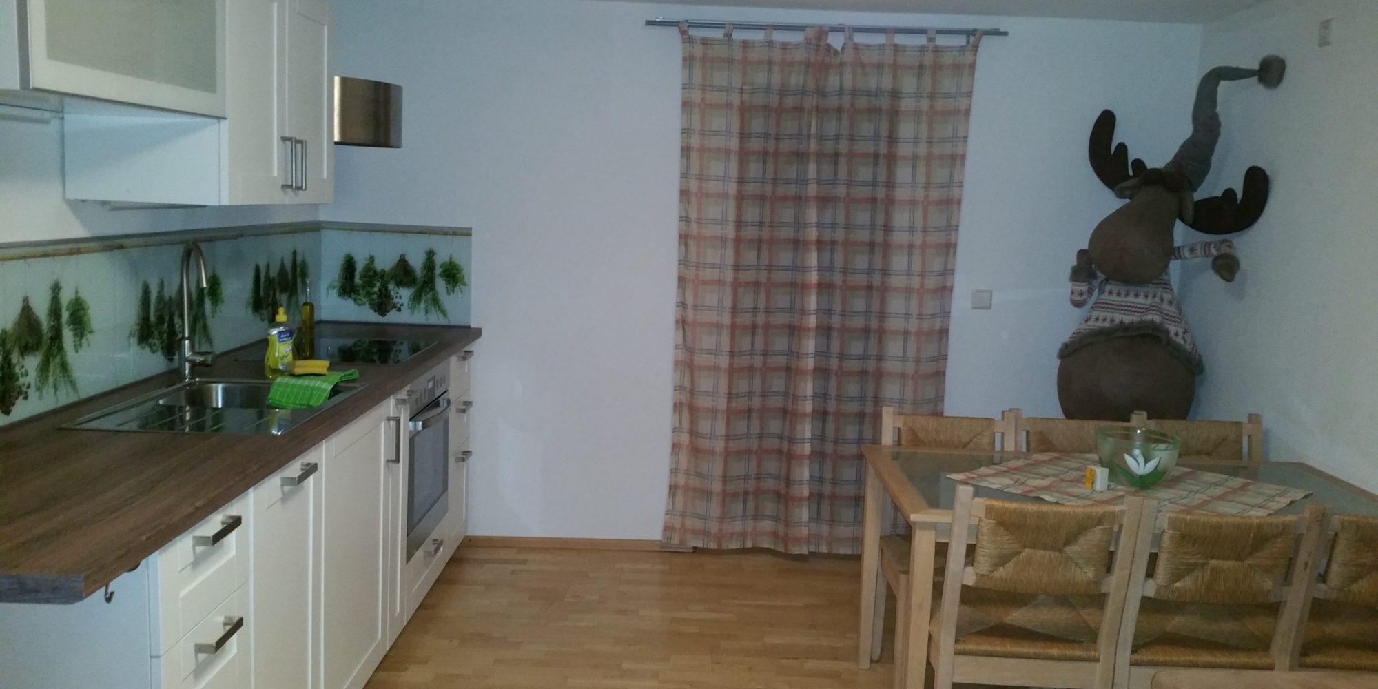 Küche Ferienwohnung Habicht