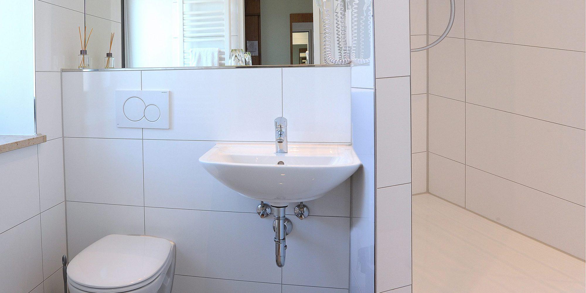 Badezimmer Gasthof zur Post