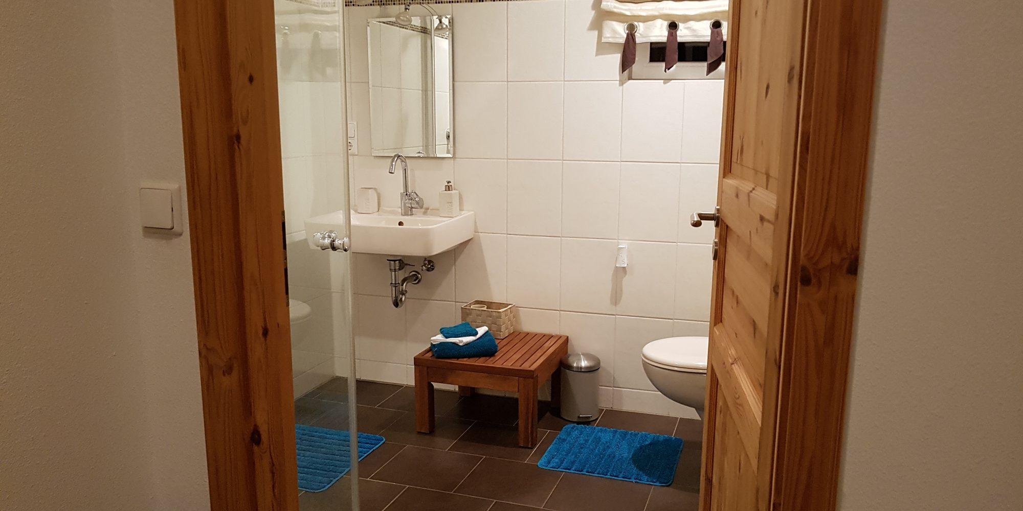 Badezimmer Ferienwohnung Habicht
