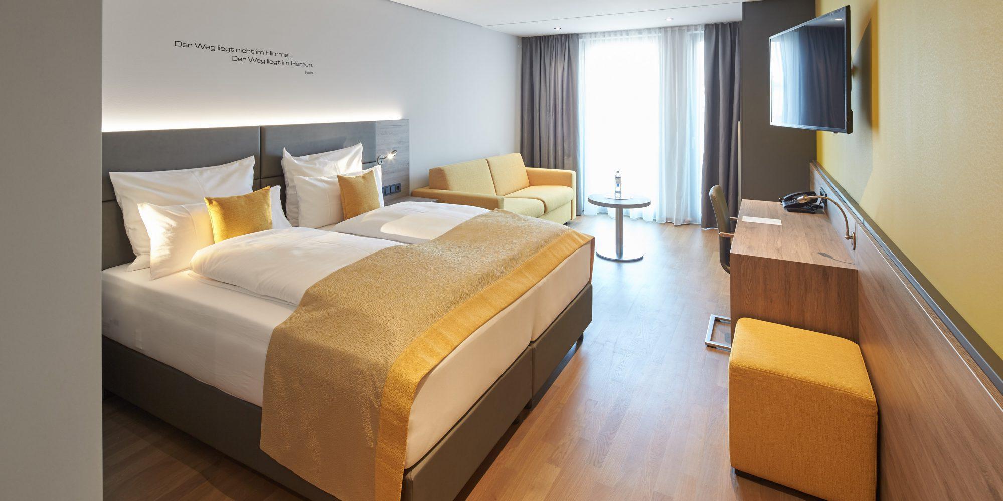 Hotel MODI Doppelzimmer