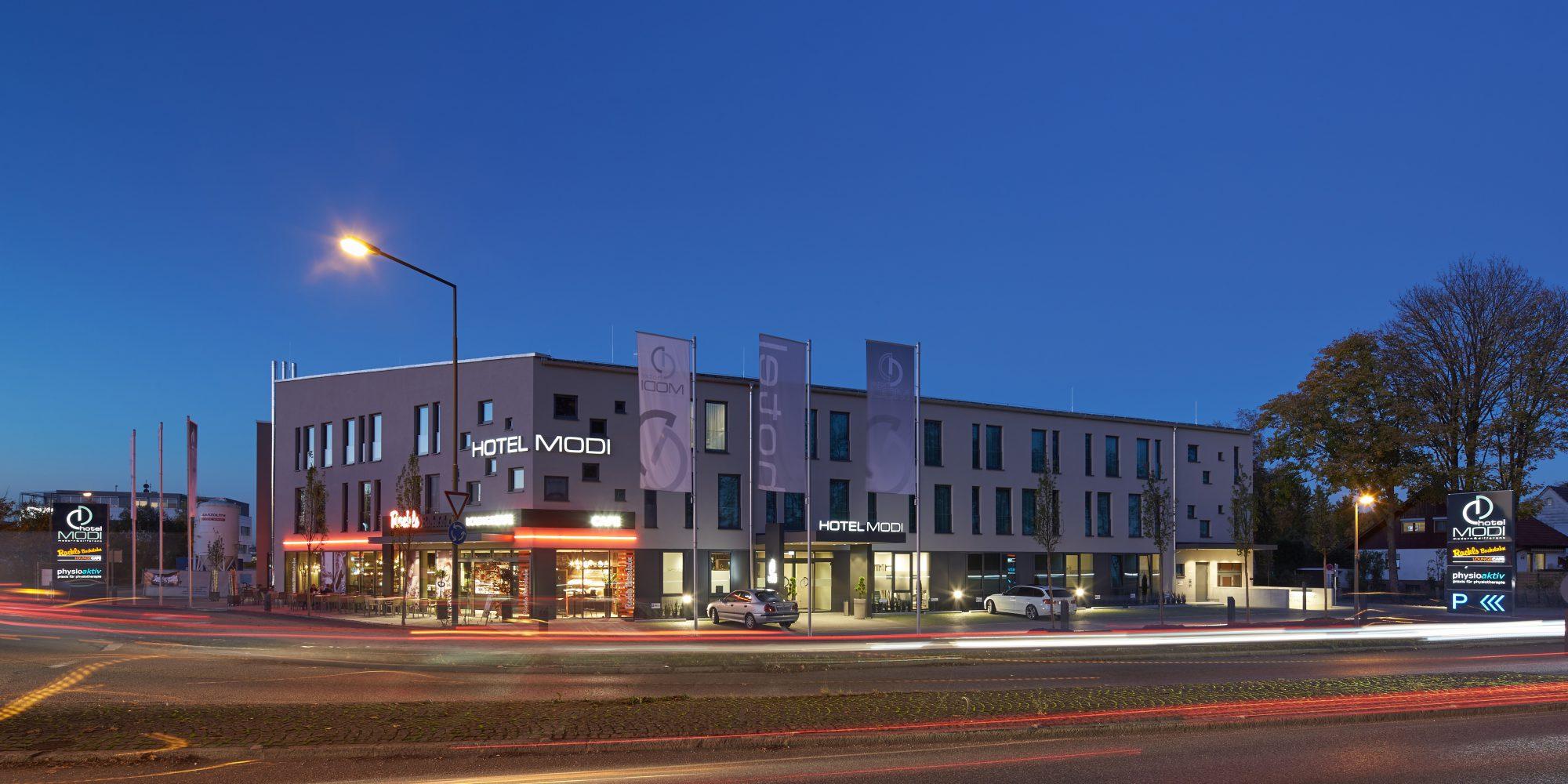 Hotel MODI Außenansicht