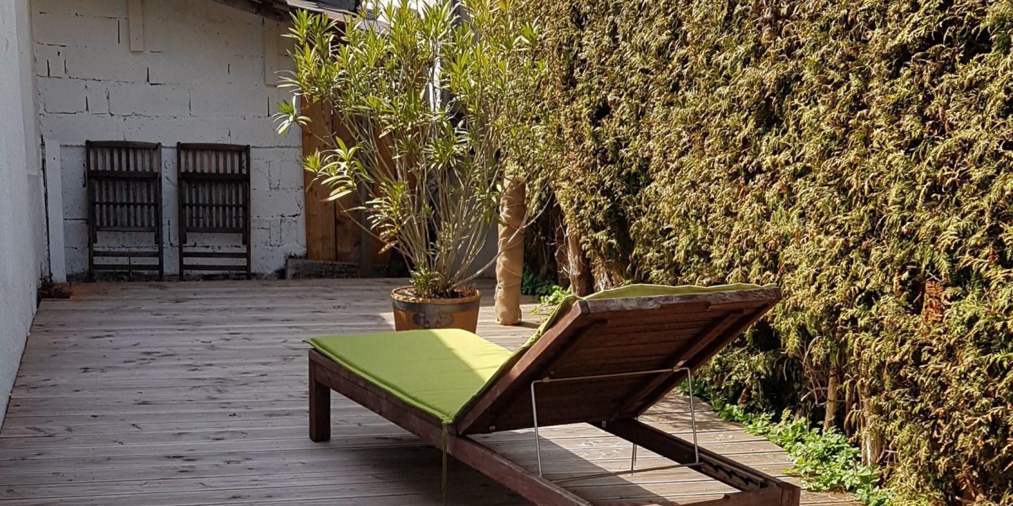 Terrasse Ferienwohnung Habicht