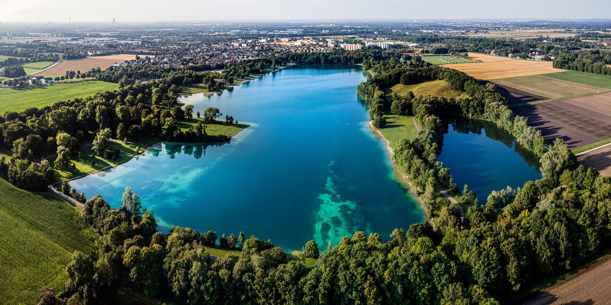 Luftaufnahme Karlsfelder See